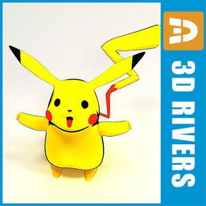 3d model of japanese pokemon