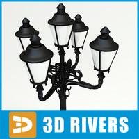 street light streetlights 3d model