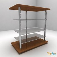 3d model table tv-table