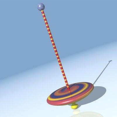 3d model whirligig