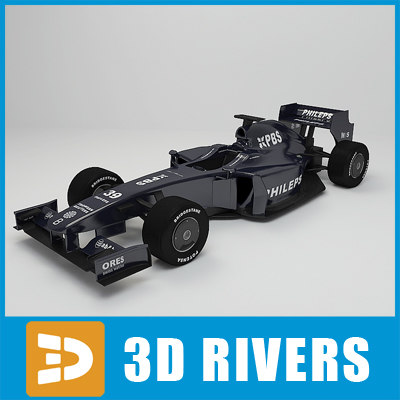 3d williams f1 model