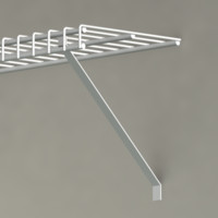 wire shelving 3d model
