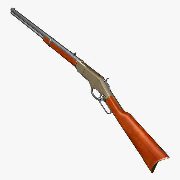 3ds 1866 winchester rifle
