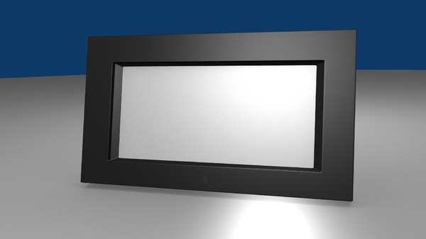 digital picture frame obj