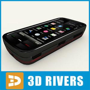 new phone nokia 5800 3d model