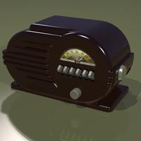 3dsmax radio speakers