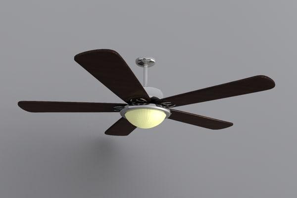 3d model fans
