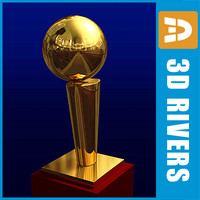 3d championship awards basketball