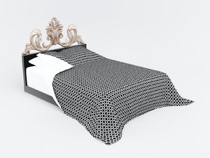 bed 741 christopher guy 3d 3ds