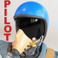 3d military pilot
