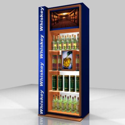 3d display fixture model