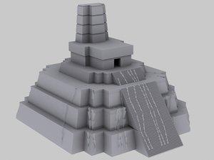 3d model pyramid
