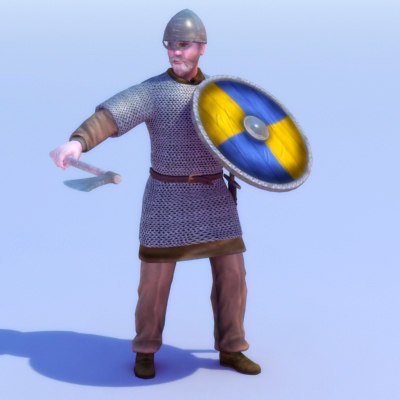 max viking warrior rigged