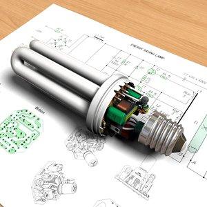 energy saving lamp lights max