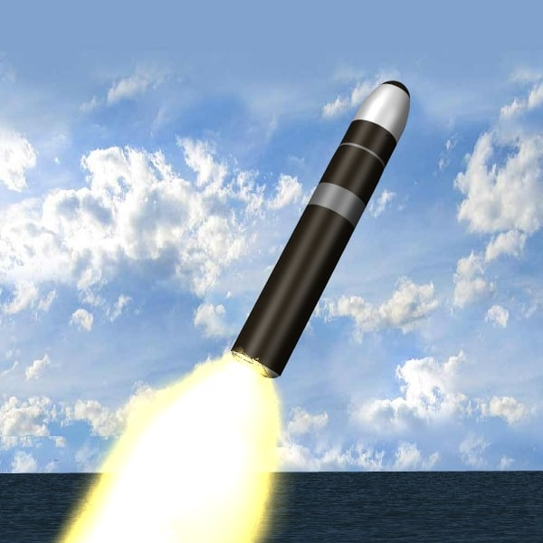 3dsmax trident ii d5 missile