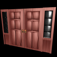 door plantation 3d model
