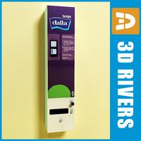 feminine hygiene vending machine max