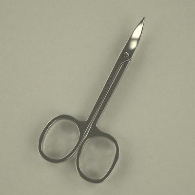 3d manicure scissors