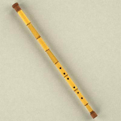 indian flute 3d max
