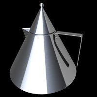 Kettle (1986) by Aldo Rossi for Alessi