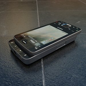 3d model nokia n96 cell phones