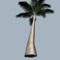 3ds tropical palm tree