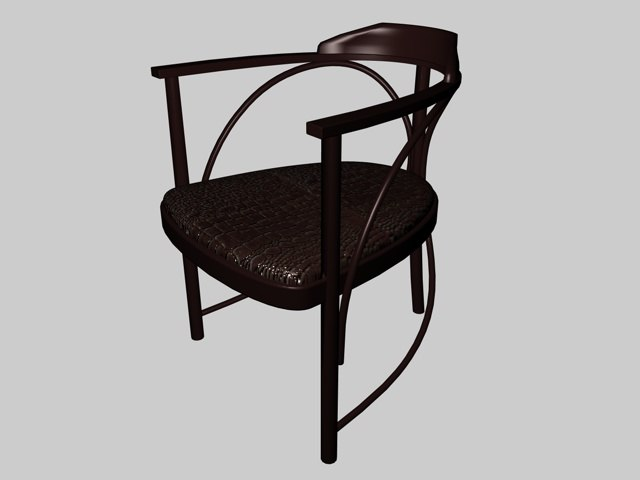 rondo chair 3d c4d