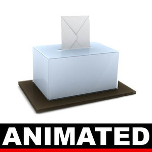 3d model animation elections paper