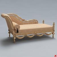 bench sofa 3d model