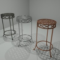 3d model of small table