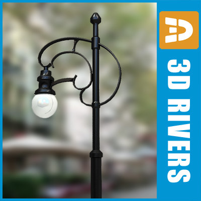 street light streetlights 3ds