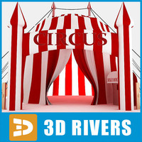 Circus tent by 3DRivers