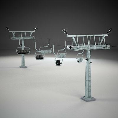 lift chair 3d 3ds