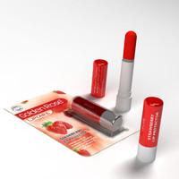 3d lipstick lip