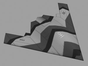 maya stealth drone