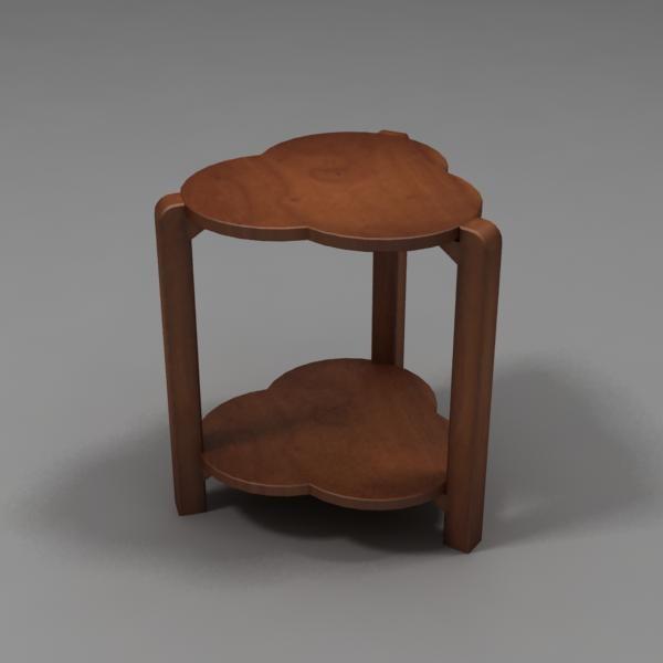 3d model minitable table