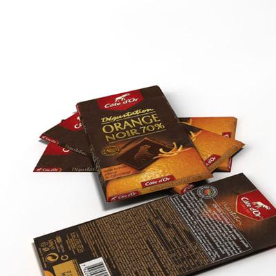 cote dor chocolate 3d max