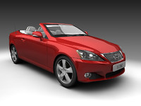 2009 Lexus IS250C Coupe Convertible