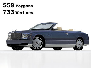 bentley arnage coupe 3d 3ds