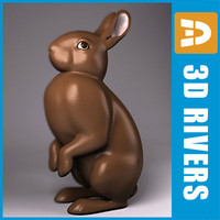 Easter bunny by 3DRivers