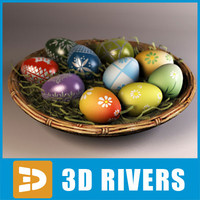 Easter eggs by 3DRivers