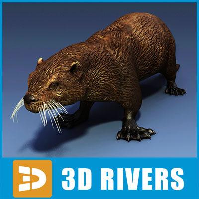 3ds max sea otter