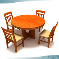 Contemporary Round Top Table