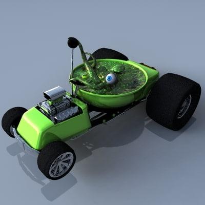 3ds max weird wheels thing