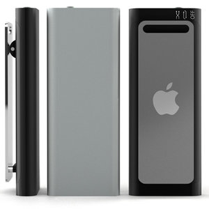 apple ipod shuffle 3g 3d model