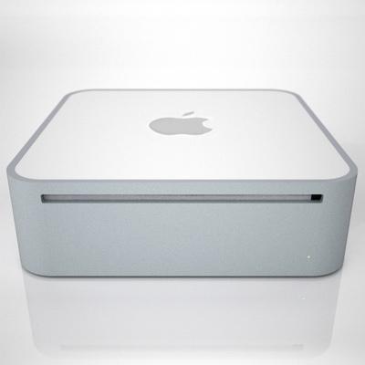 apple mac mini 2g 3d model