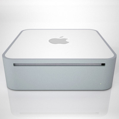 apple mac mini 2g 3d model