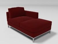 3ds max arild sofa