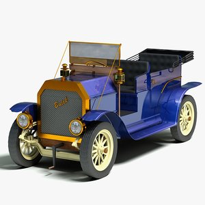 1910 buick vintage car 3ds