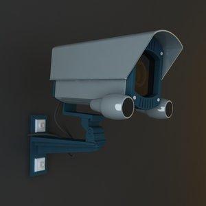 security camera 02 3d model